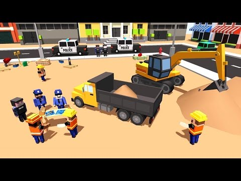 City Police Station Builder (by Sablo Games) Android Gameplay [HD]