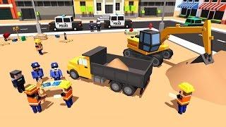 City Police Station Builder