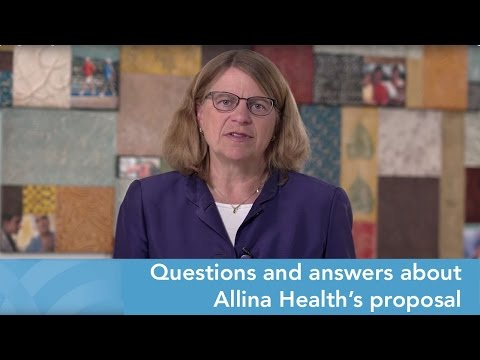 Questions and answers about Allina Health's proposal