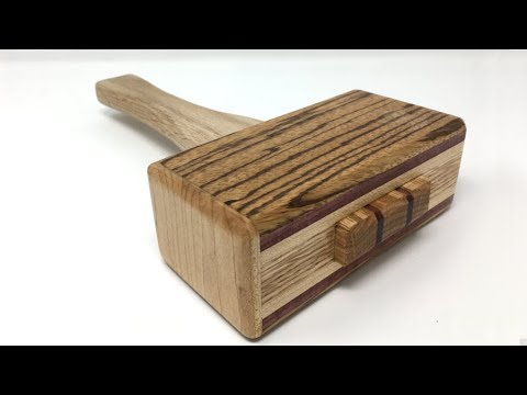 Making a Badass Woodworking Mallet