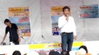 12.08.19 芦別道の駅でSTVラジオ5時間生放送のリハーサル風景です。 後...