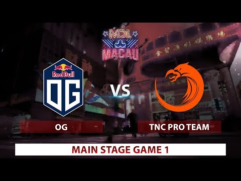 OG vs. TNC | Game 1 | Day 2 | Mars Dota League | Group Stage