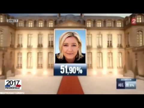 Marine Le Pen présidente de la République 2017