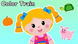 Color Train and More | BACK TO SCHOOL SONGS FOR KIDS | Baby Songs from Mother Goose Club!