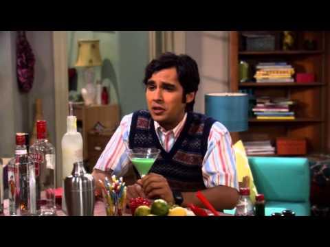Vidéo The Big Bang Theory Français ► La premiére fois que Raj a parlé a une fille.