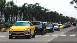 Supercar Traffic in Mumbai Traffic | Lamborghini | Ferrari | Porsche