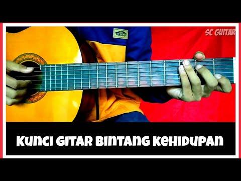 Kunci gitar bintang kehidupan pemula