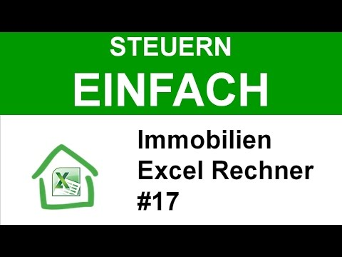 immobilien steuern einfach berechnen excel tool 17. Black Bedroom Furniture Sets. Home Design Ideas