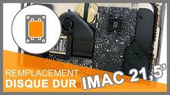 """Remplacer disque dur iMac 21,5"""" - A1418"""