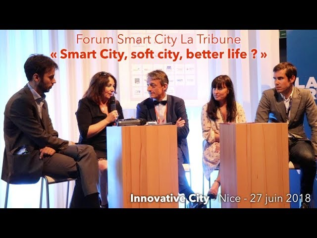 Forum Smart City La Tribune - Innovative City