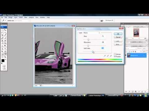 تغيير لون الصورة في الفوتوشوب color background in ...