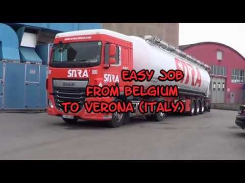 easy job    from Belgium to Verona Italy