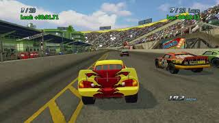 Sneak JR - Cars 1 the Videogame 360 - Lightning Mcqueen S4 VS Pro  Piston Cup Tree Race thumbnail