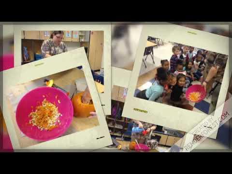 Mrs Sheffields K Class Makes Pumpkin Slime