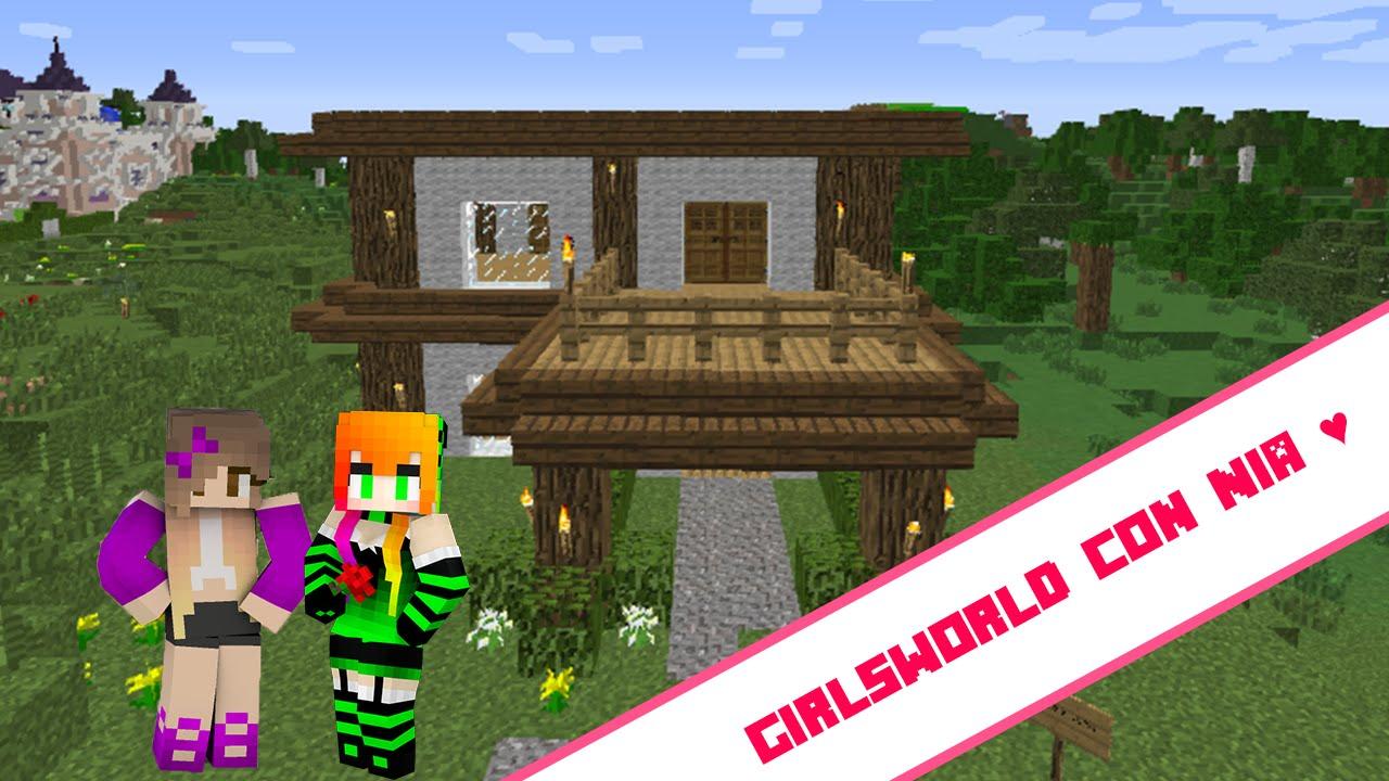 Construyendo mi casa girlsworld con nia youtube for Casa moderna lyna