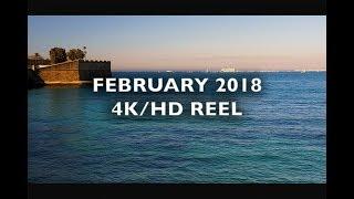 February 2018 Reel 4K/HD Royalty Free Footage