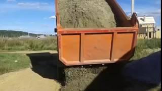 видео Песок речной с доставкой низкая цена!  - Купите Песок и Щебень в Ростове-на-Дону!