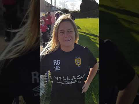 Nottingham Forest Ladies 0-1 Hull CIty Ladies. Rachel Gay Interview