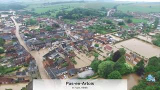 Inondations du 7 juin 2016 - Pas-en-Artois et Souchez