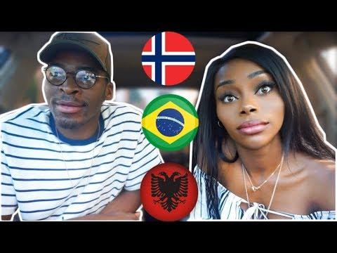 REACTION| NORWAY vs BRAZIL vs ALBANIA Rap/Hip Hop/RnB