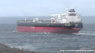 Tanker Ship POLA leaving La Coruna