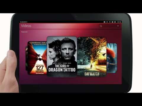 Anuncio oficial de Ubuntu for tablets en Inglés