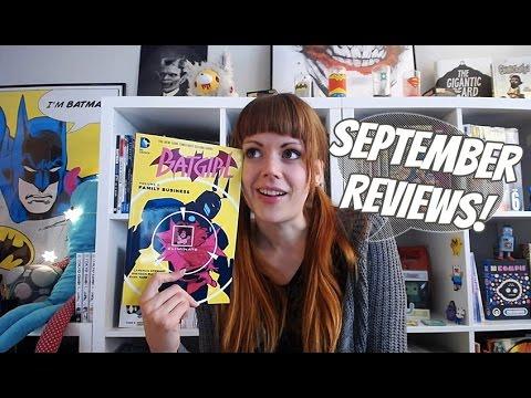 Comic & Graphic Novel Reviews | September 2016 Wrap Up!