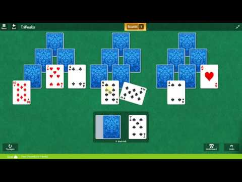 Microsoft Solitaire Collection - Tripeaks - December 19 2016