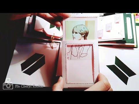 DIY   Magic Card   BTS Taehyung ver ft EXO Power