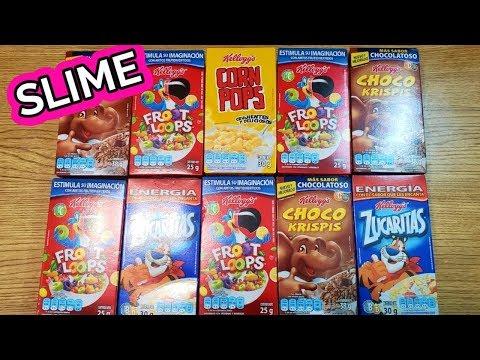 SLIME no escojas el cereal incorrecto con Sorpresas Felices y juguetes divertidos