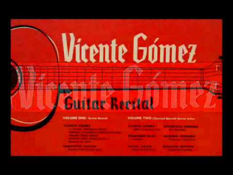 Vicente Gomez, 1952: Flamenco Guitar Recital (Part 1) - Rare Decca Vinyl LP