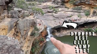 FLIPS off a 19 METRE CLIFF at SYDNEYS BEST CLIFF JUMPING SPOT! (GONE WRONG! I cracked my ribs)