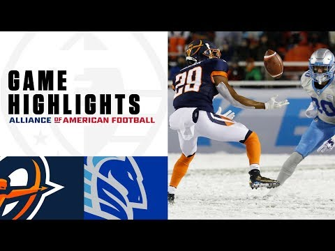 Orlando Apollos vs. Salt Lake Stallions | AAF Week 4 Game Highlights