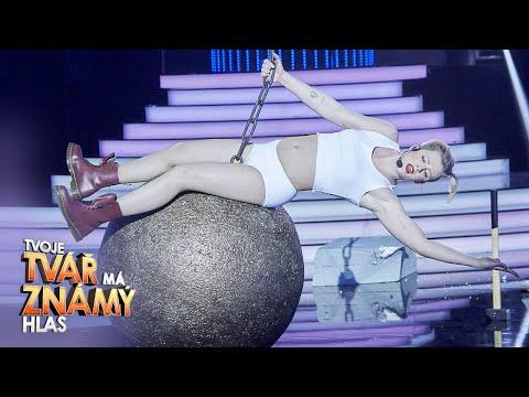 Adam Mišík jako Miley Cyrus –