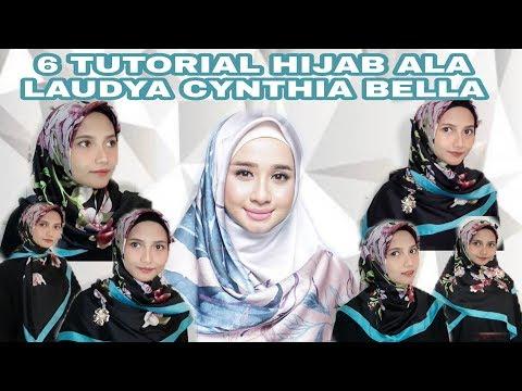 Tutorial hijab ala laudya chintya  bella simple dan easy.
