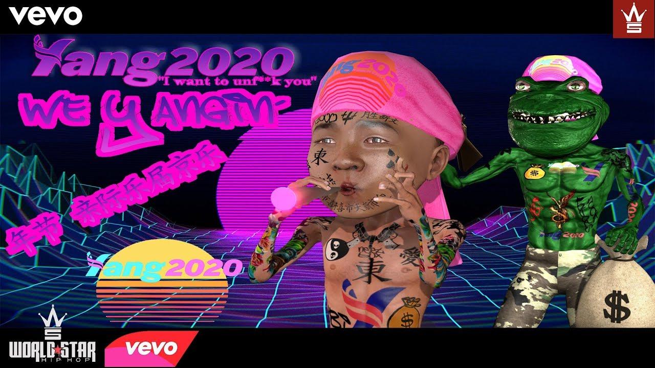 WE YANGIN' - Yang2020 Yang Gang Rap Video