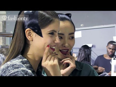 Alexis Mabille Fall/Winter 2013-14 BACKSTAGE | Paris Fashion Week PFW | FashionTV