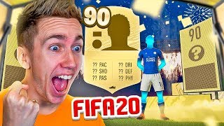 MY FIRST 90 RATED WALKOUT (FIFA 20 PACK OPENING)