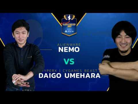 SFV: HX   CYG BST   Daigo vs. AW   Nemo - Capcom Cup 2017 - CPT 2017