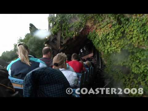 HD : Alpen Express Enzian (Express des Alpes Enzian) (OnRide) - Europa Park