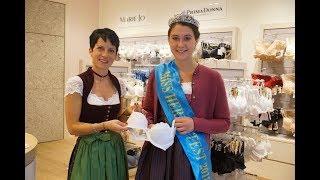 Trachten-Dessous für Regina: die Miss Herbstfest bei Edelweiss Basics