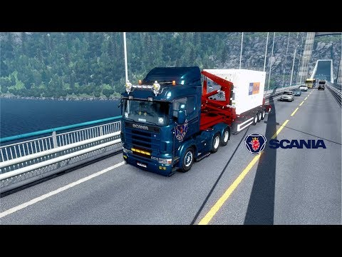 ETS2 1.28 - Promods 2.20 - Scania 144L - Bergem to Oslo
