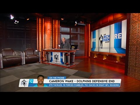 Miami Dolphins DE Cameron Wake Dials in to The RE Show - 11/29/16
