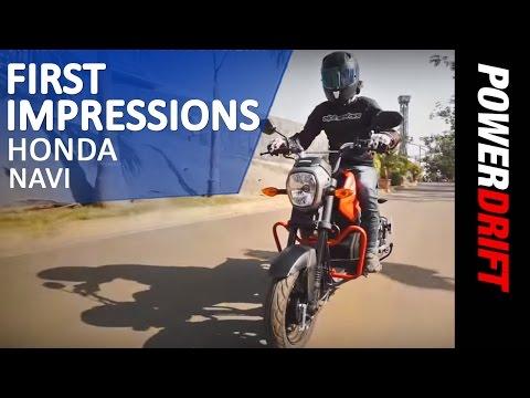 Honda Navi : First Ride : PowerDrift