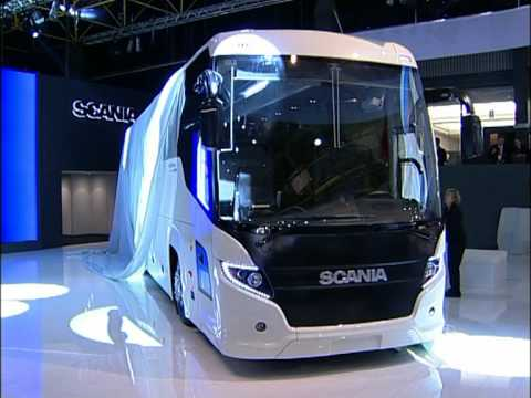 World premiere for the all new Scania Touring