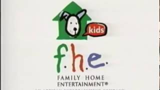 FHE logo (1998-2005) with Artisan Ent. byline (Original & Homemade)
