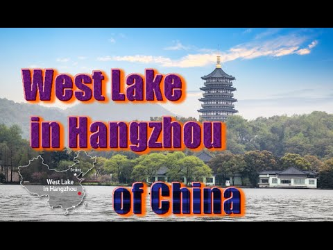Top 10 tourist attractions in China part10 | West Lake in Hangzhou travel video