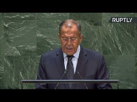 Выступление Лаврова на 74-й сессии Генассамблеи ООН