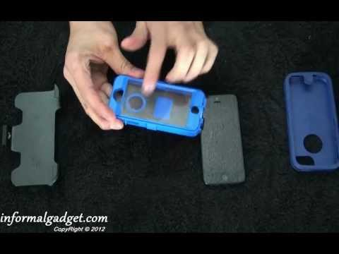 iPhone 5 OtterBox Defender Series Case Review: Best Hard Shell Case, how-to put on your new iPhone5