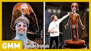 We turn Link into a giant human chocolate fountain. GMM #1327.2 Watch Part 3: https://youtu.be/iBWEMAVXC04 | Watch Part 1: https://youtu.be/IMbZp2P7wn4 ...